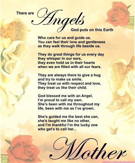 Best Mothers Day Poems ? The WoW Style