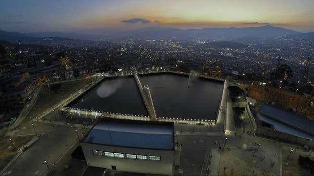 Parte del proyecto puesto en marcha en Medellín