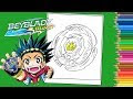 Coloriage Beyblade