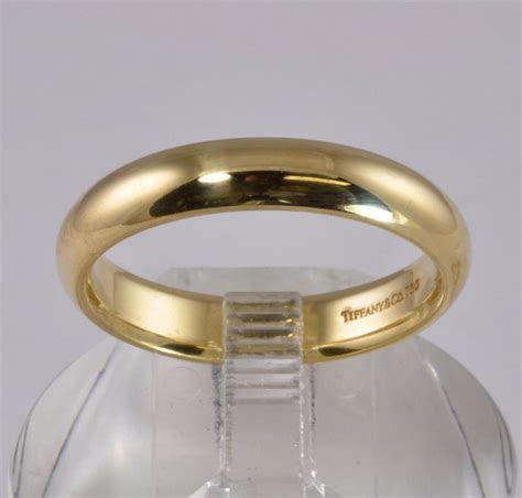 Men's Tiffany & Co Wedding Band   18kt Gold   Size 11