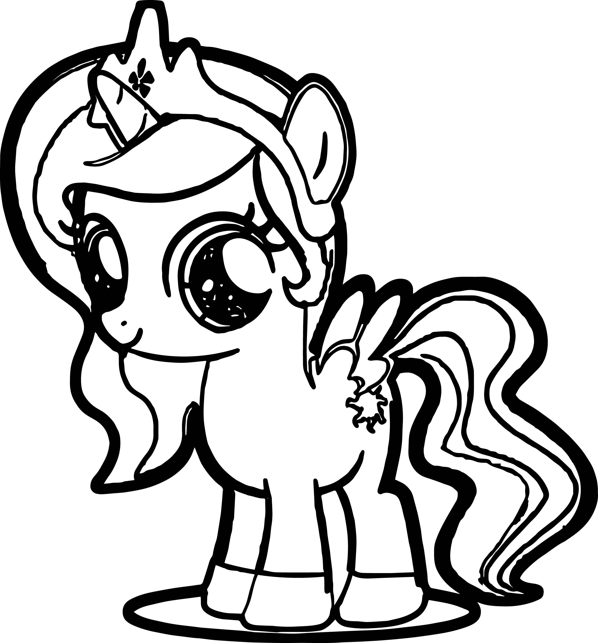860 Coloring-pages/cartoons/my-little-pony For Free