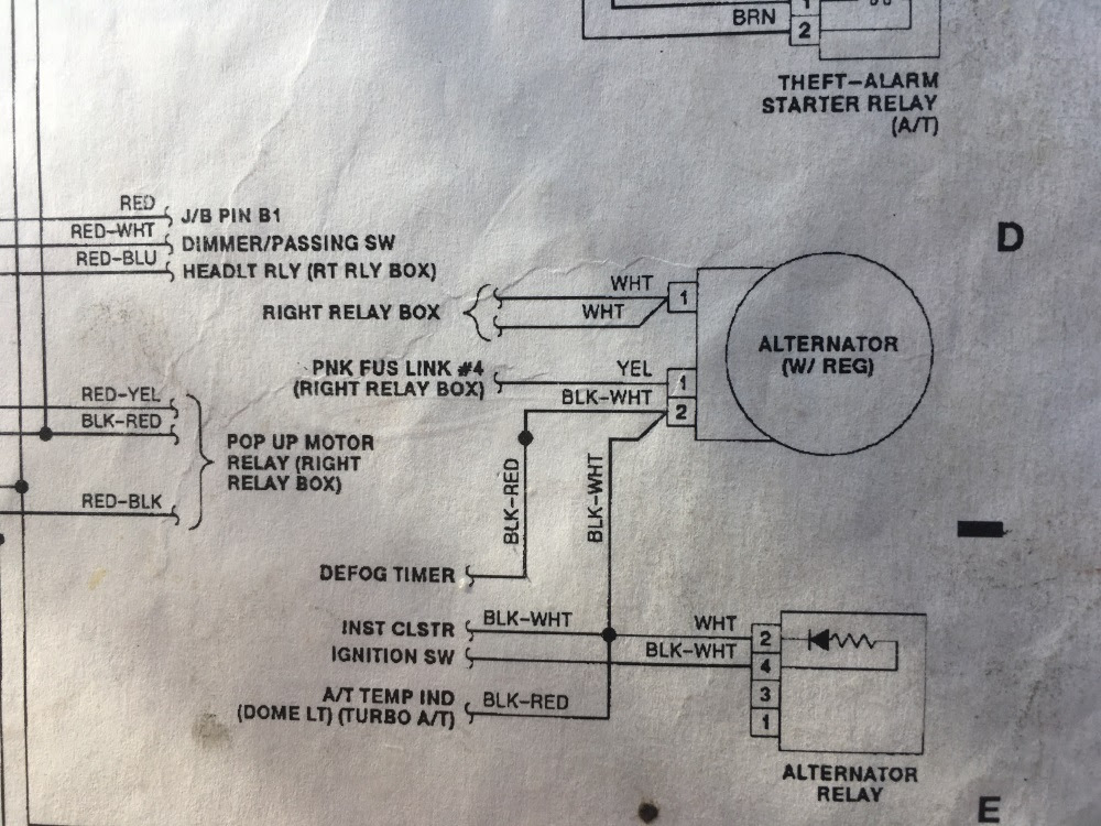 Alternator Wiring Question Www Hotrodcoffeeshop Com
