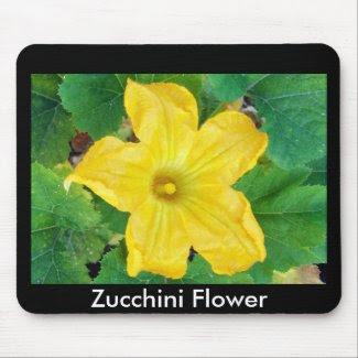 Zucchini Flower mousepad