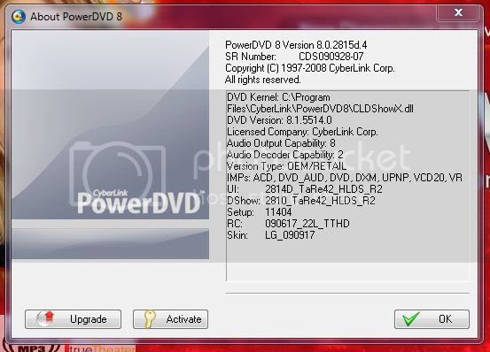 Powerdvd 8 No Sound On Dvd Playback