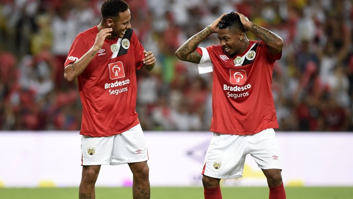 Marinho Neymar Jogo das Estrelas Zico (Foto: André Durão)