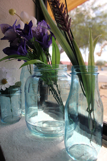 Blue Jar DIY