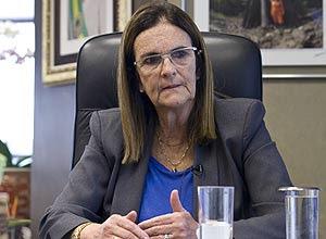 A presidente da Petrobras, Graça Foster, diz que a companhia está trabalhando para recuperar a rentabilidade