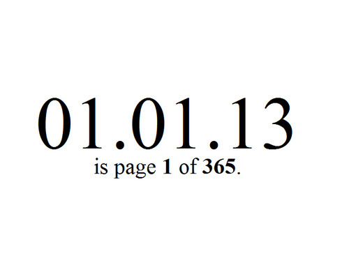 First of January 2013