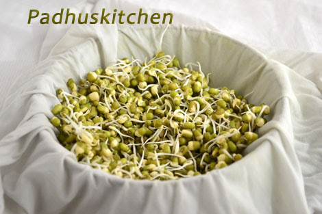 how to sprouts moong beans
