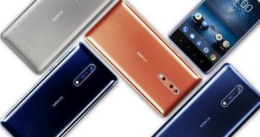 نوكيا تطرح هاتفها الجديد Nokia 8 فى عدد من دول العالم