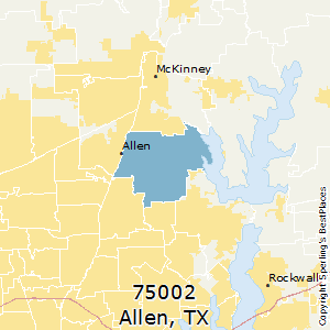 Best Places To Live In Allen Zip 75002 Texas
