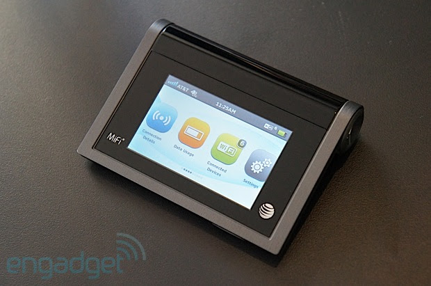Novatel Liberate MiFi for AT&T handson