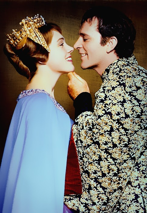 Julie Andrews and Richard Burton in Camelot