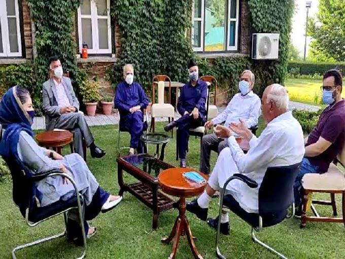 Amid fresh J&K bifurcation rumour, Gupkar alliance meets after 6 months