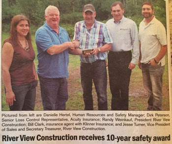 Safety Philosophy   RiverView Construction