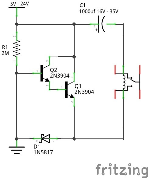 Relays Dc 99 9 Less Power Latching Option 5 Steps With Pictures Instructables