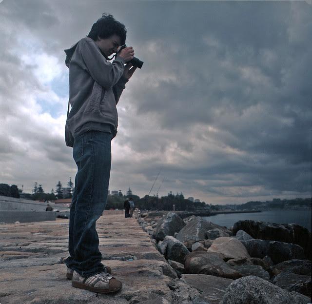 My son The photographer
