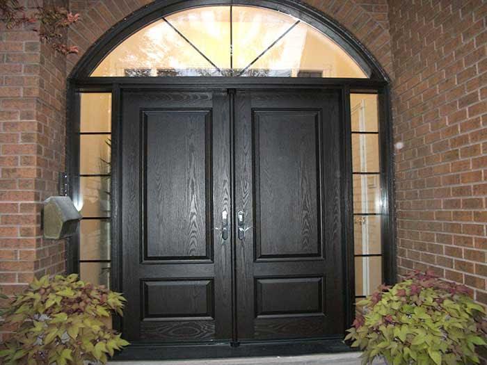 Fiberglass Doors-Front Entry Doors-Modern Doors-Woodgrain ...