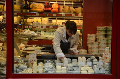 Fromagerie on Rue Cler, Paris