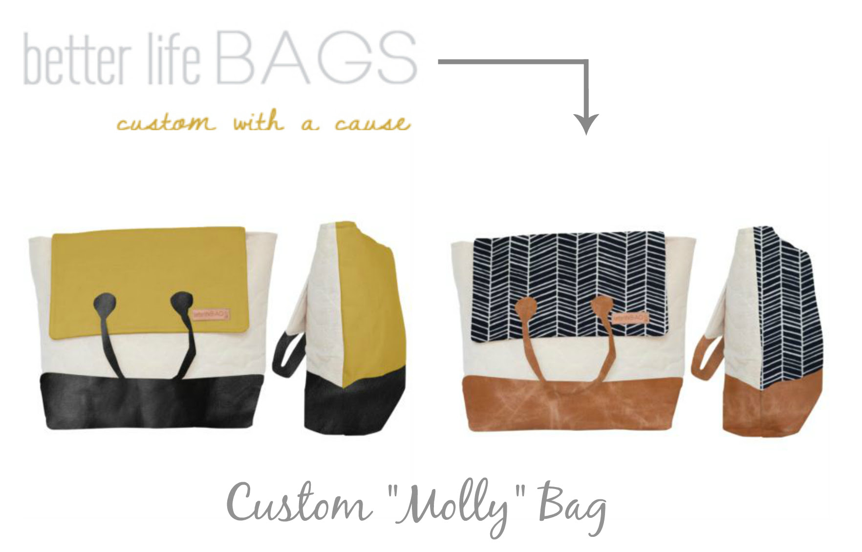 better life bags custom bag