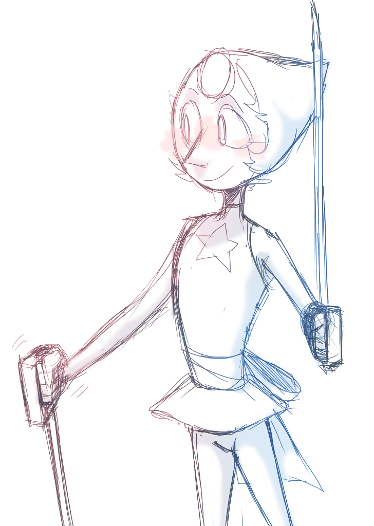 another doodle of the noodle thistime i t r i e d to draw her on Photoshop hhhhhhhh *weeps* neveragainohman.
