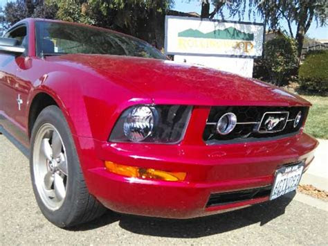 generation red  ford mustang   sale