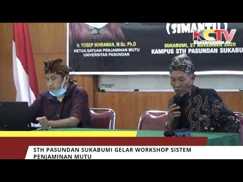 STH Pasundan Sukabumi Gelar Workshop Sistem Penjaminan Mutu