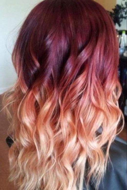 Ombre Hair Colours Blonde