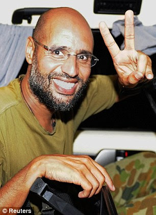 Connections: While in his homeland he was overseeing a brutal oppression, Saif al-Islam Gaddafi was also building links with several high profile figures in the West, including many in Britain