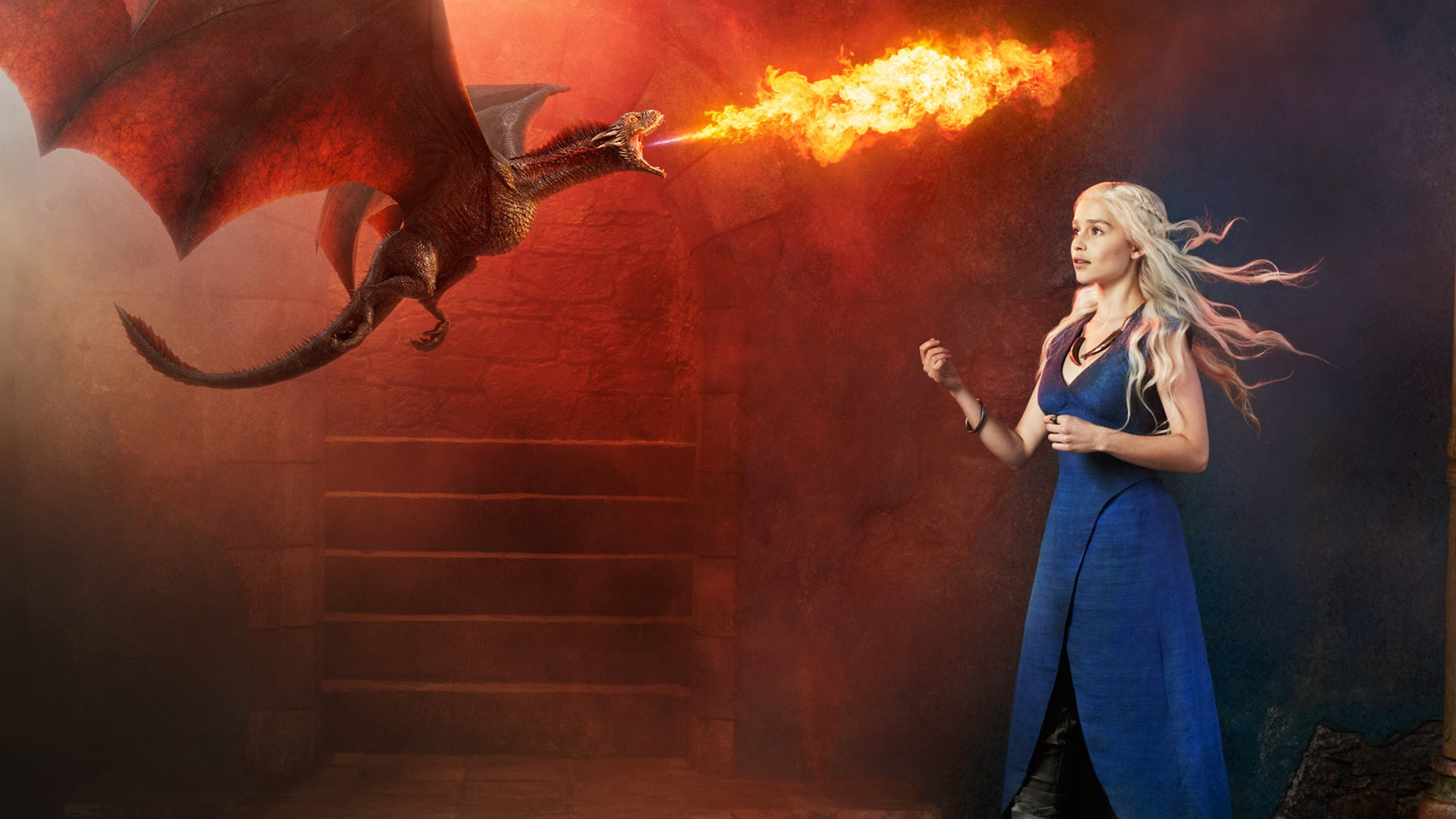 Daenerys Targaryen Game Of Thrones Wallpaper 38567435 Fanpop