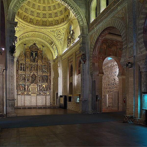 File:Iglesia de San Román (Toledo). Capilla Mayor.jpg