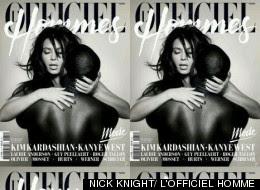 Kim Kardashian Kanye West Lofficiel Hommes