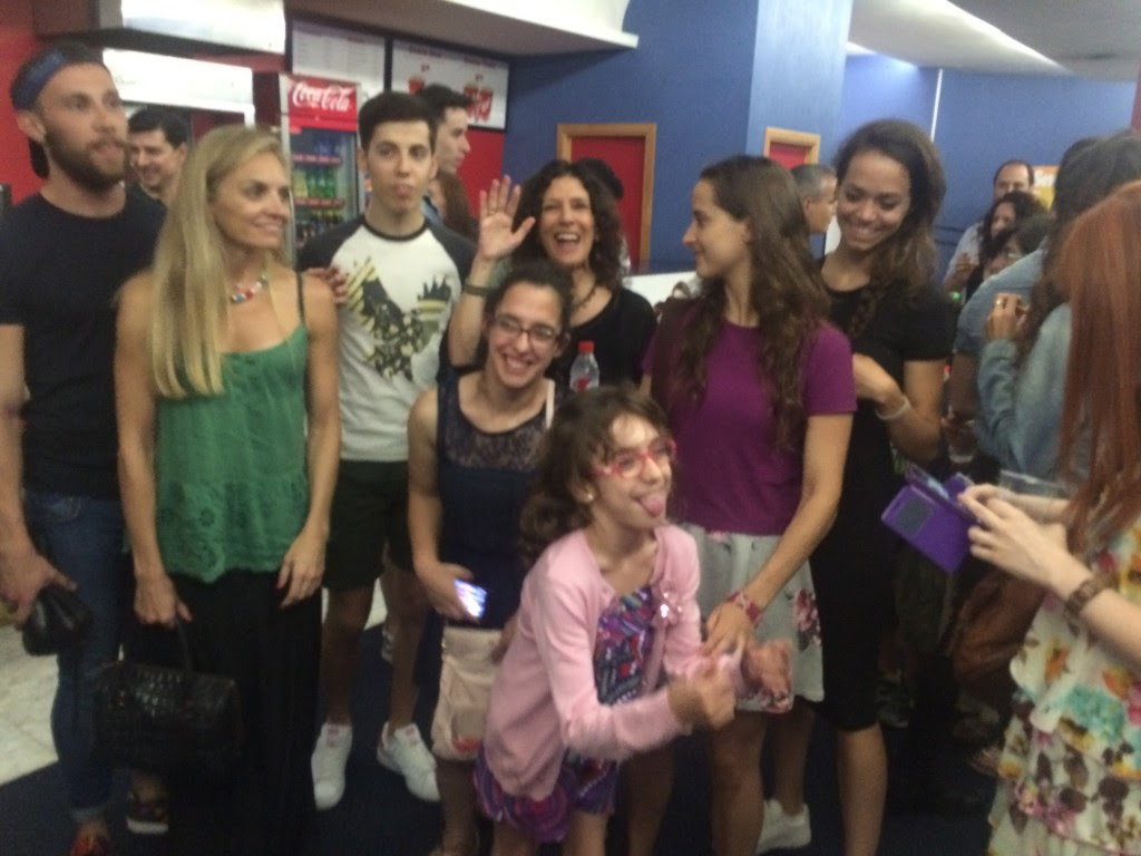The dancers/choreographers from Balletvale+ and our Ballerinos friends from El Rialto who came to support the film