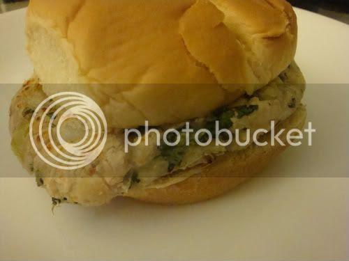 Patty on a bun