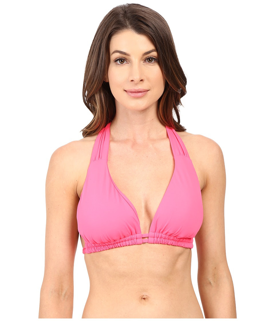 BECCA by Rebecca Virtue - Color Code D\/DD\/DDD Top (Poppy) Women's Swimwear