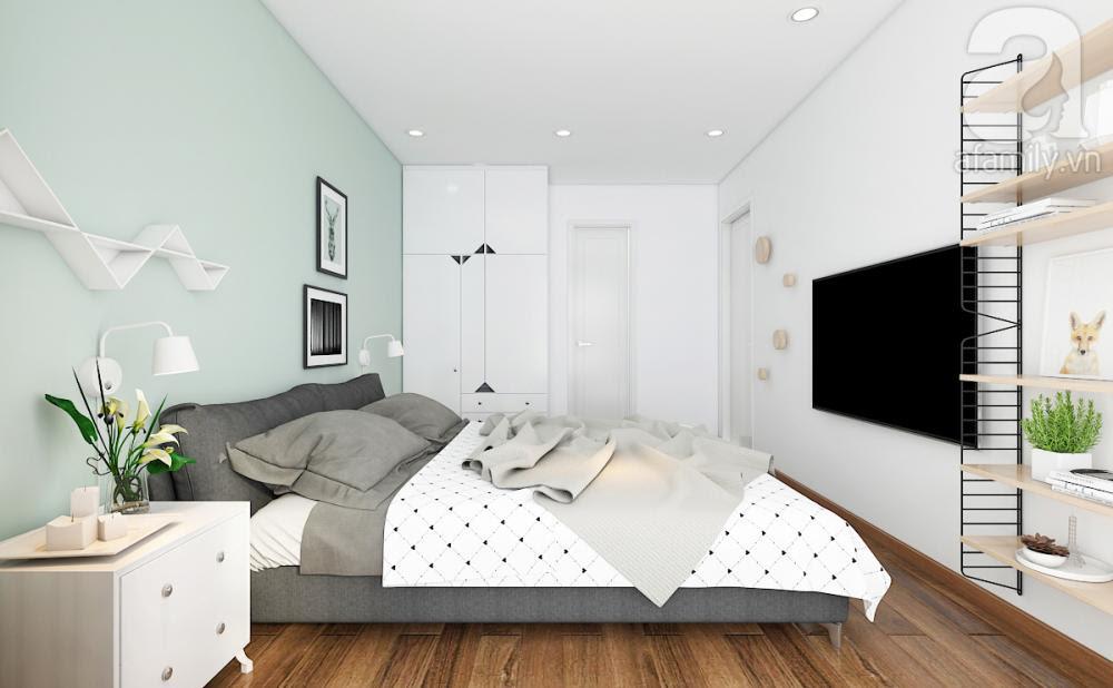 phòng ngủ chính đơn giản