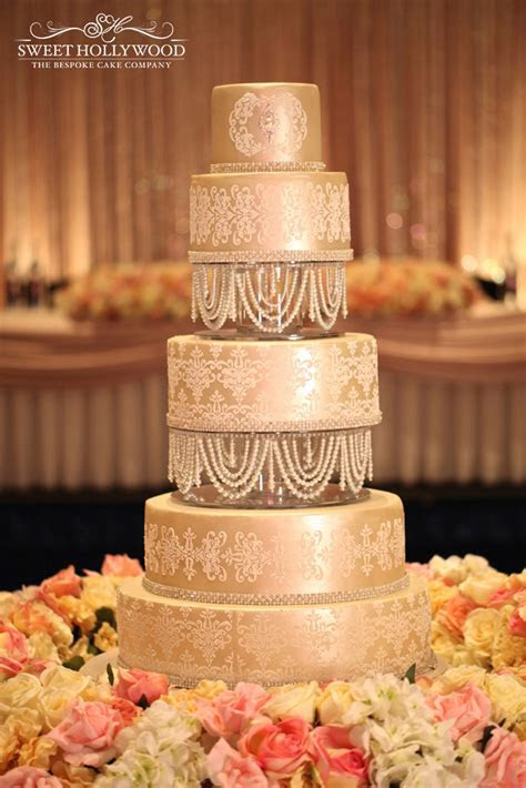 Luxury Asian Wedding Cake In London By Sweet Hollywood