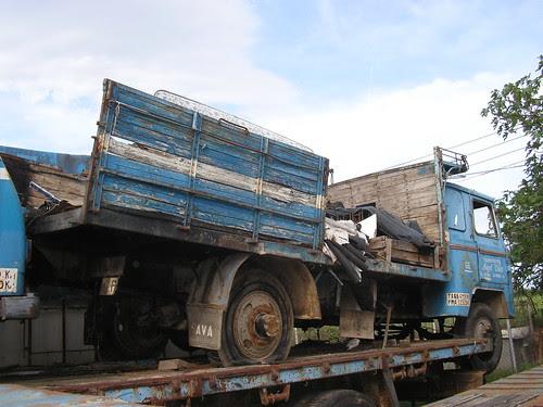 camió Nazar de TRANSPORTS I GRUES ÀNGEL VILAR SA