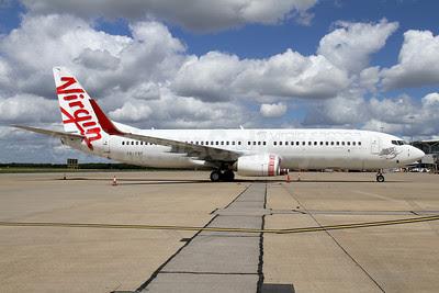 Virgin Samoa-Airline of Samoa Boeing 737-8FE WL ZK-PBF (msn 33799) BNE (Peter Gates). Image: 908181.