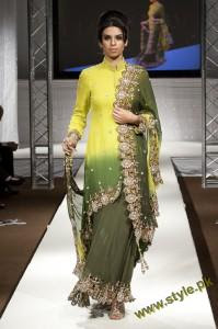 Latest Wedding Wears By Bombay House At PFW UK 2011 1 style.pk