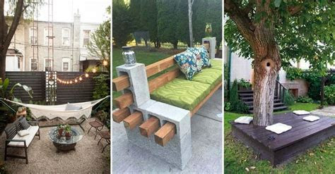 25 Easy And Cheap Backyard Seating Ideas   Page 8 of 25