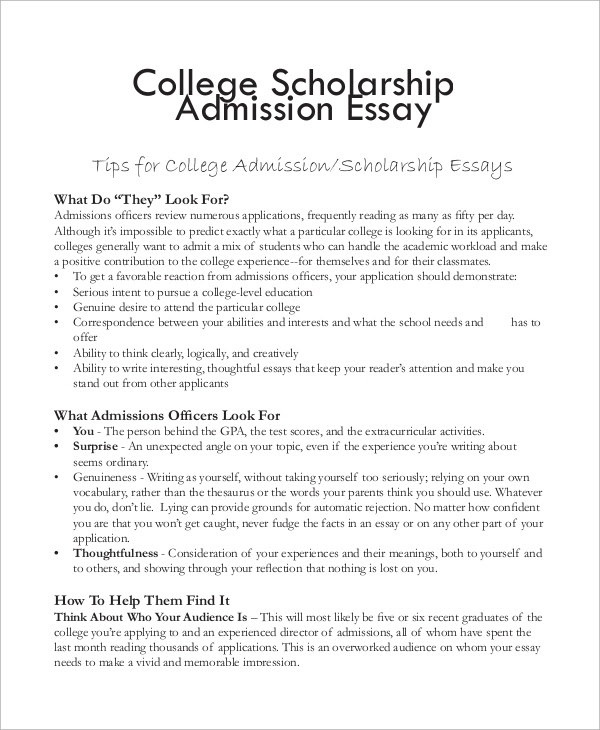 how to write an essay for scholarships year