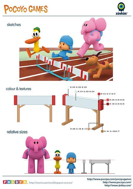 Pocoyo Games 2012 Hurdle