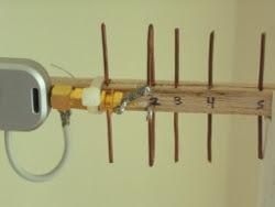 Yagi Antena Wifi Feedpoint