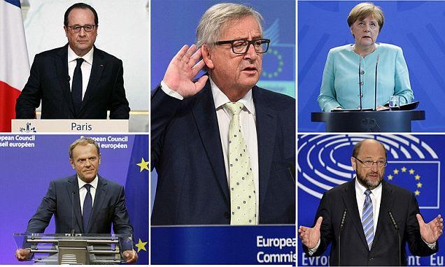 EU's Martin Schulz demands Britain makes quick exit after Brexit result