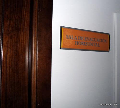 Sala de Evacuación Horizontal