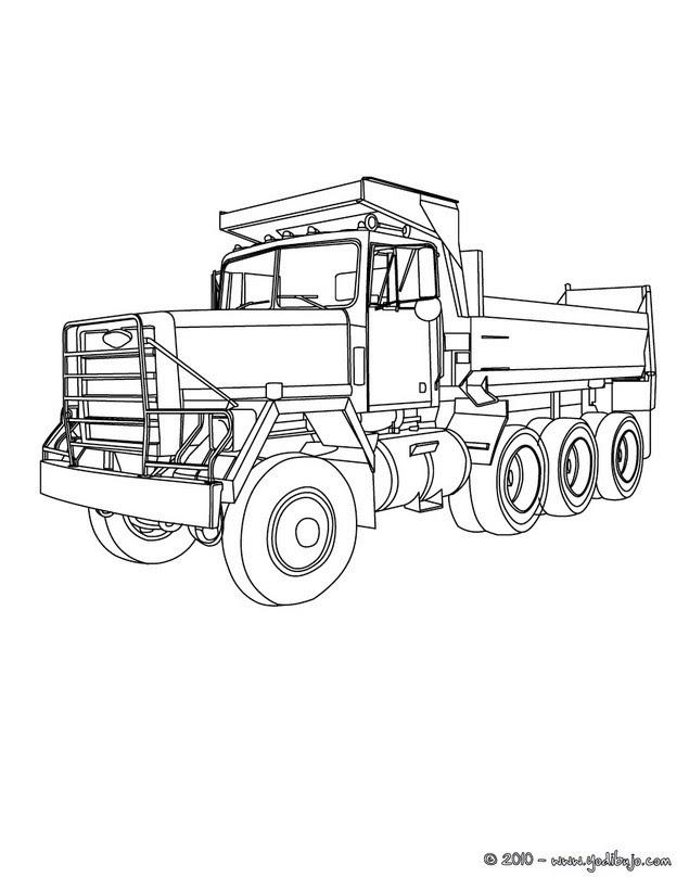 Dibujos Para Colorear Camion 29 Dibujos De Camion Para Colorear Y