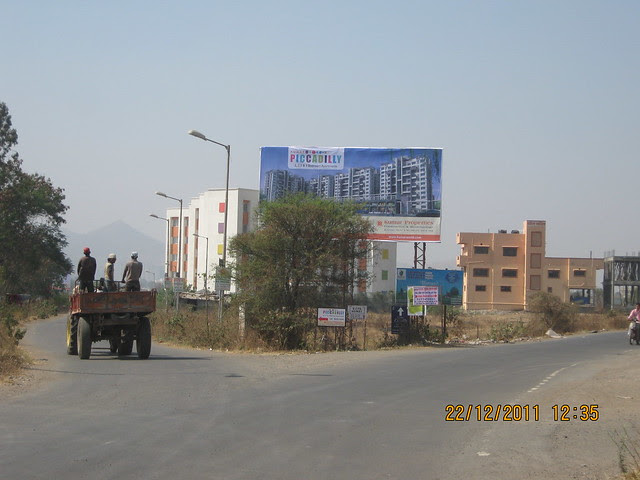 Turn Left for Akshara International School & Kumar Piccadilly, Wakad, Pune 411 057