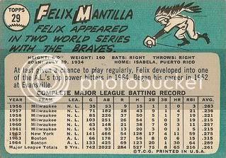 #29 Felix Mantilla (back)