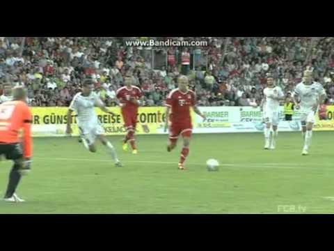 Sonnenhof vs Bayern Munich 2013 Highlights 0-6 Shaqiri Robben Kroos Alaba Green Goals Video